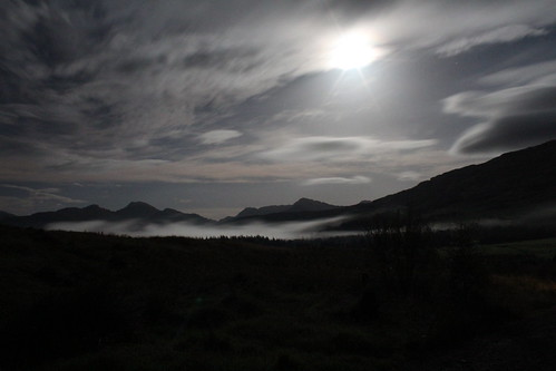 Ben More by moonlight