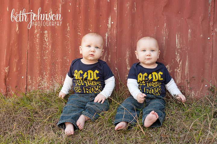 tallahassee twin baby photography
