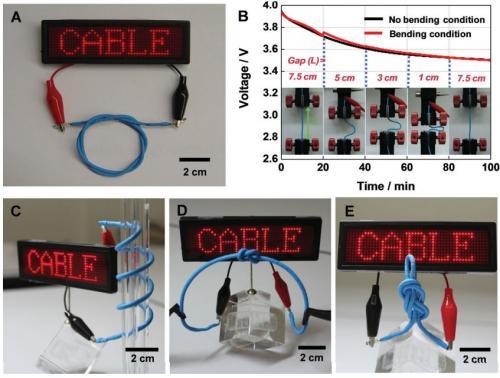 Гибкий аккумулятор LG Chem можно завязать узлом