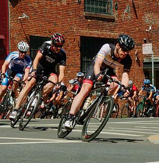 Nick racing in Giro di San Francisco