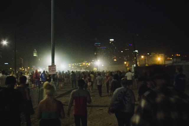 End of First Night @ FYF 2012