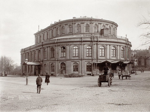 The Swedish Theater in Helsinki