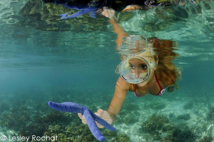 copyright-Lesley-Rochat Snorkeling in Radja Ampat