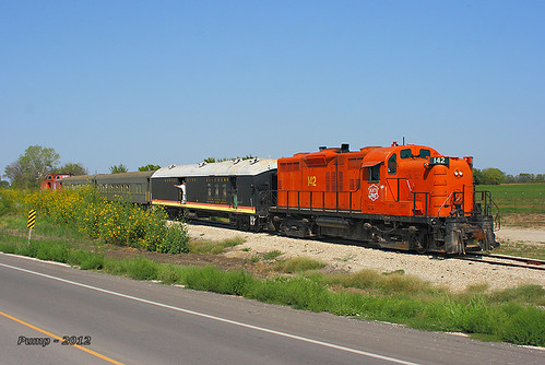 Southbound MRHA Train at Ottawa, KS