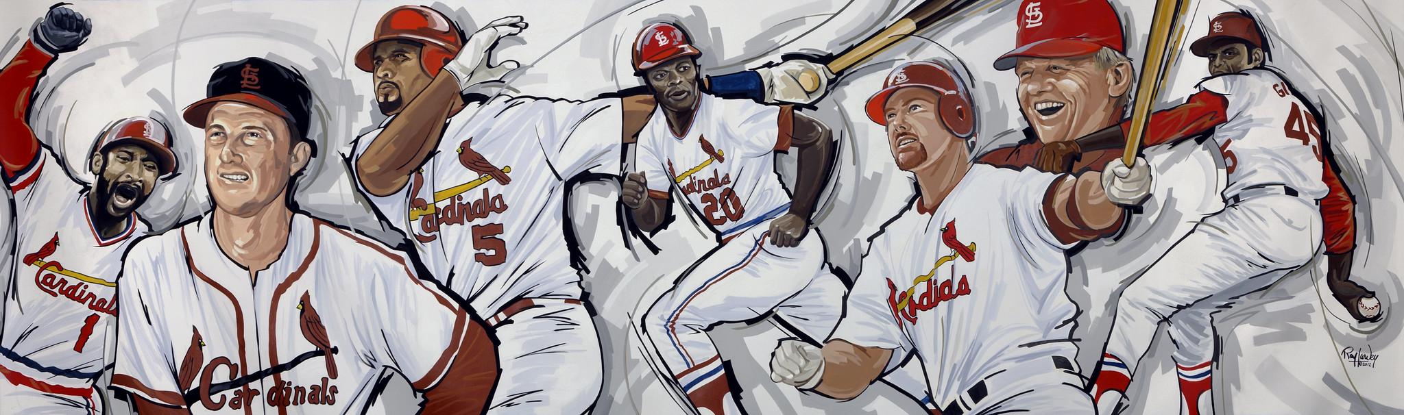 Joe Buck's Sports Mural