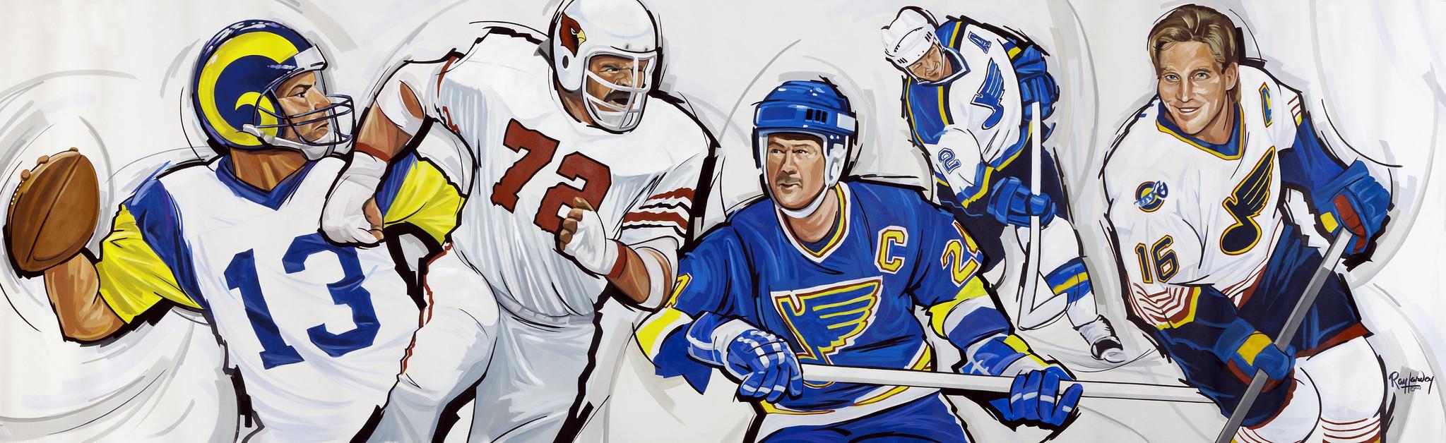 Joe Buck's Sports Mural #2