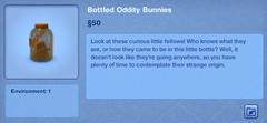 Bottled Odity Bunnies