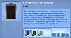 Scrollington's Deluxe Entryway