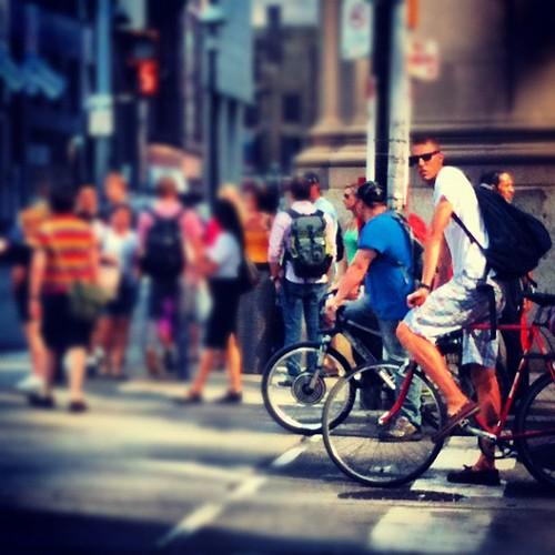 Cycling Toronto #CanadaUSAtour