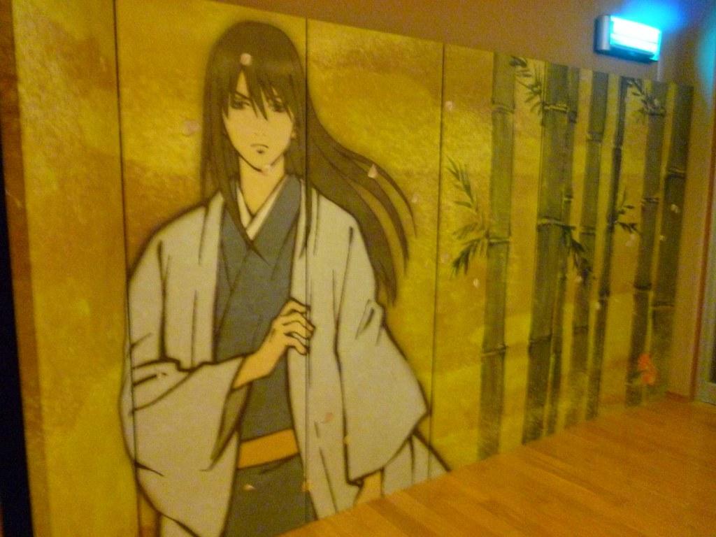 Katsura at Gintama Land