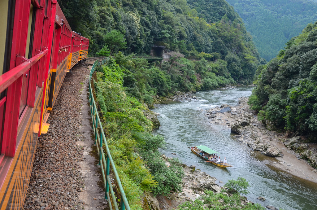 Sagano Scenic Railway One Of The Best Train Rides In Japan