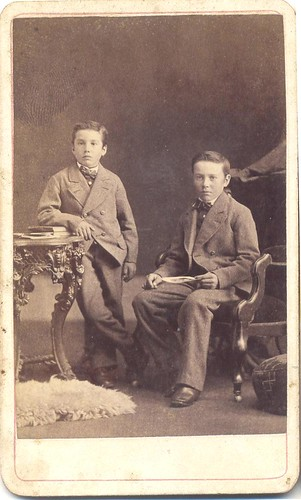 Brothers by Wm. Gould, Photographer - Owen Sound, Ontario