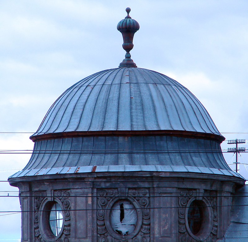 Another dome shaped roof/corner top. by aigarsbruvelis