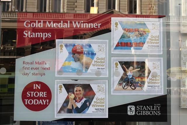 Gold Medal Winner Stamps