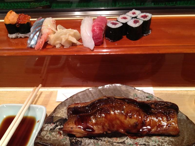 親戚の寿司屋