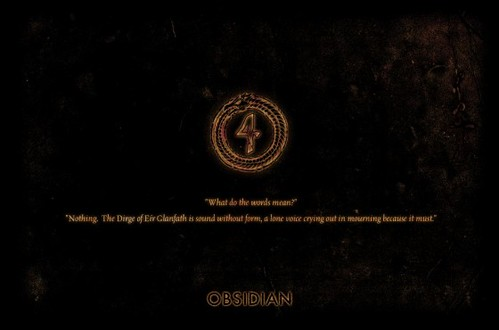 Obsidian Website Skinned With a Teaser Countdown