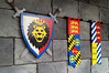 Lego coat of arms and banners
