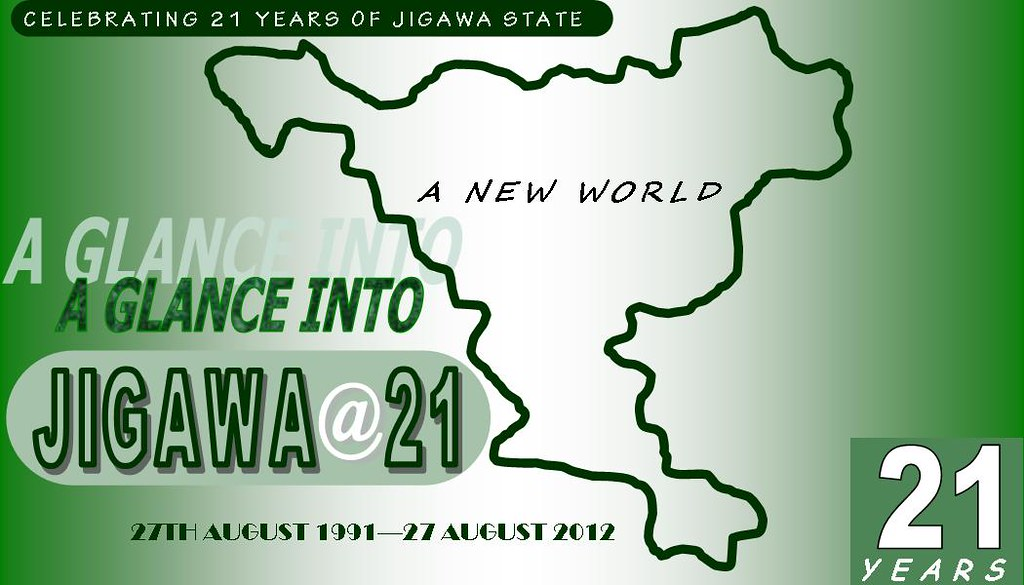 Jigawa State, The New World - In Tune with Now - Magazine cover