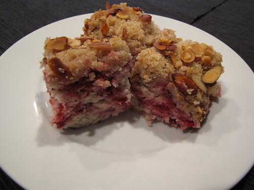 Raspberry Almond Coffee Cake - Idiot's Kitchen