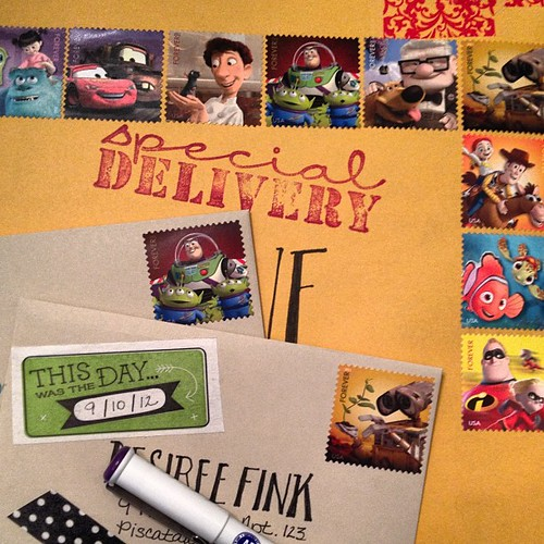 Sending lots of Disney love today! #showandmail #penpal