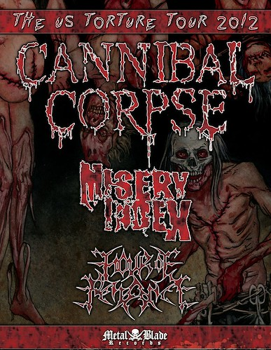 Cannibal Corpse at the Rock & Roll Hotel