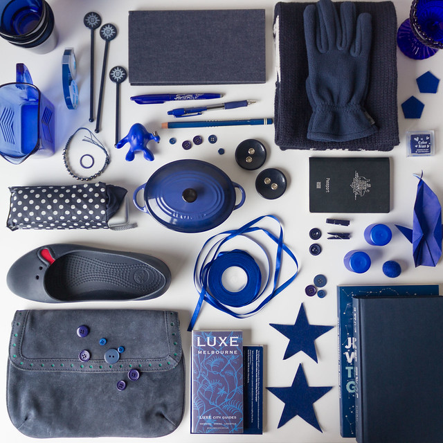 Collecting Colour : July is Navy