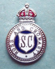 BADGE - Scotland - Ross & Cromarty Constabulary Special Constable Lapel Badge (WW2) KC