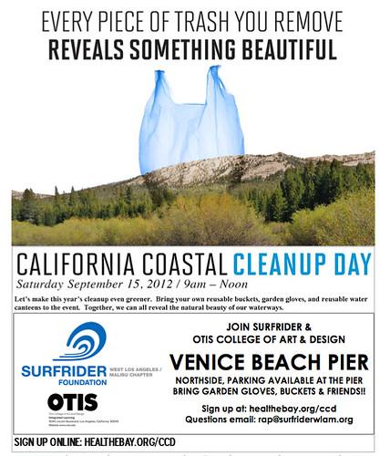 California Cleanup Day 2012 Venice Beach
