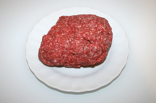 10 - Zutat Rinderhack / Ingredient beef ground meat