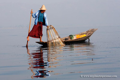 Fisherman on Inle Lake - Myanmar - #2