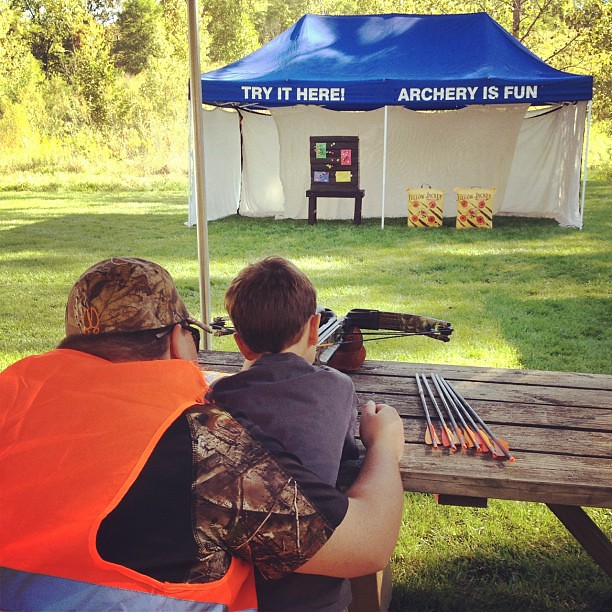 Ford Hoosier Outdoor Experience Crossbow Shooting 101