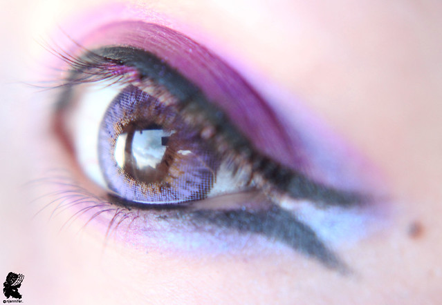 review-Barbie - Puffy 3 tones Violet12