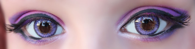 review-Barbie - Puffy 3 tones Violet7
