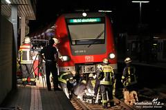 Person unter S-Bahn, Bahnhof Kastel, 16.09.12