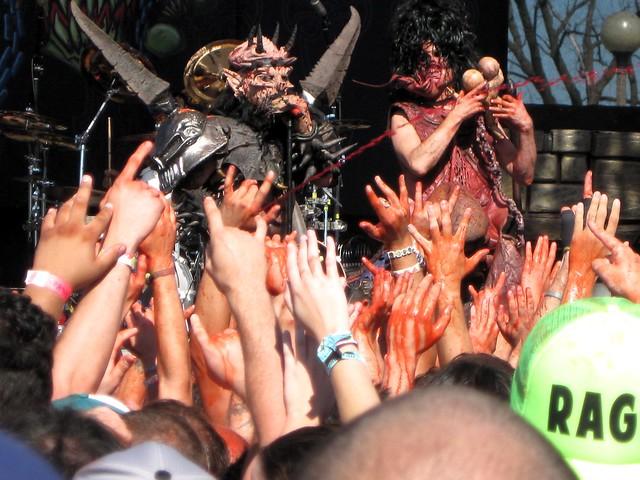 GWAR at Riot Fest 2012