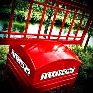 Telephone Box Art, London 2012 Olympic Park