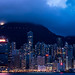 Magic time at West Kowloon Waterfront Promenade - Panorama Shoot [11 in 1]