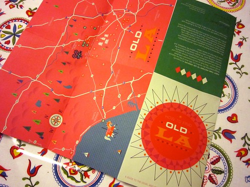 Herb Lester Associates Old L.A. Map 2