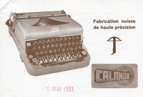 Calanda 1951
