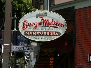 BURGER-MEISTER HAMBURGERS SAN FRANCISCO CALIF