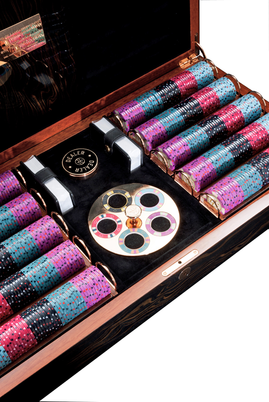 Lancelot Lancaster White - Luxury poker box