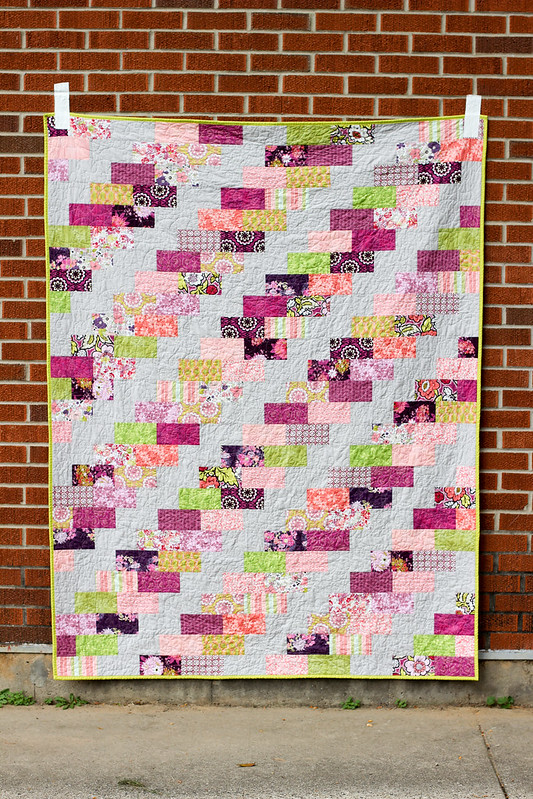 Side Braid Quilt Pattern - Mini Braid