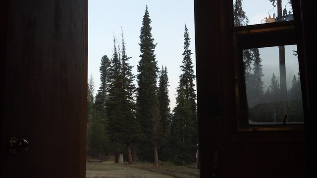 A view from my cabin