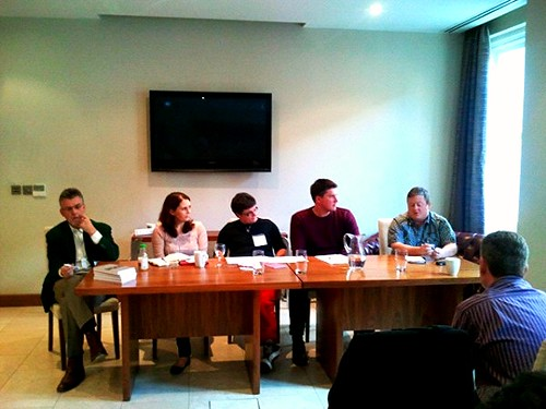 Panel discussion at Write on Finance Blog Up Leeds