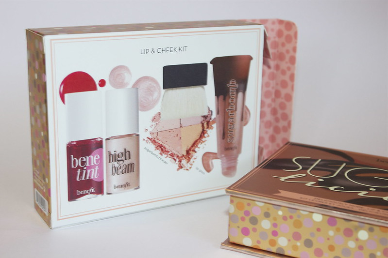Benefit's SUGARlicious lip & cheek set