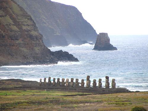 Ahu Tongariki y entorno geográfico