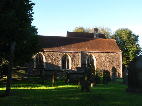 Churchyard Shadows