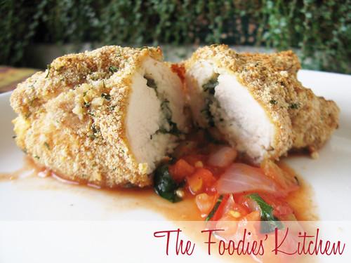 Chicken Mozzarella Rolls