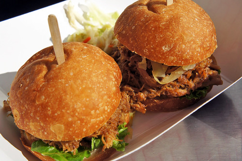 Asian Pull Pork Sandwich