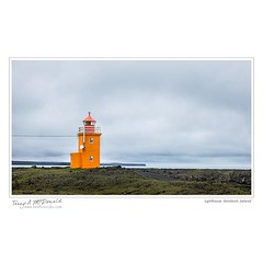 Lighthouse, Grindavik, Iceland